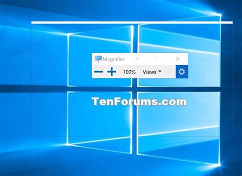how to turn on invert colors turn on or invert colors of magnifier window in