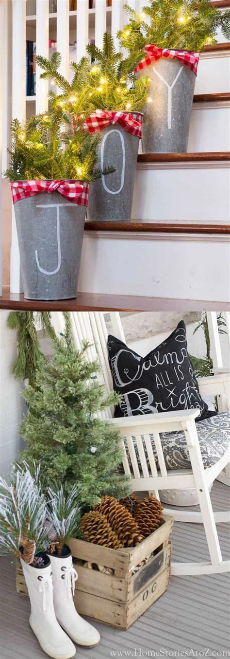 beautiful christmas porches front doors