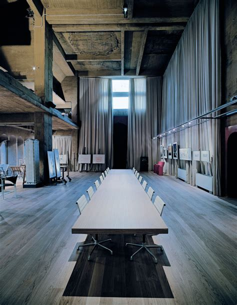 cement factory house pasiune fosta fabrica ricardo bofill decor