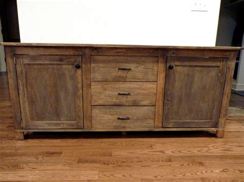 Rustic White Sideboard Buffet Console White Rustic Sideboard Diy Projects