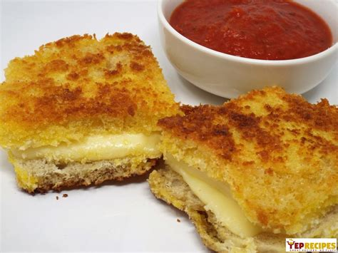 Mozzarella En Carrozza - mozzarella en carrozza yeprecipes