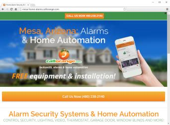 callorange launches new website for locksmith and home