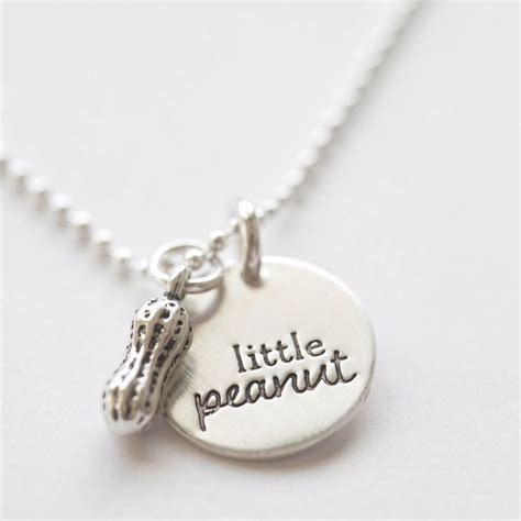 peanut sterling silver sted children s