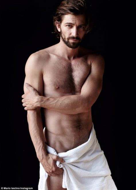 Katie Holmes tries to get into snapper Mario Testino's Towel Series   Celebrity, Hot guys and