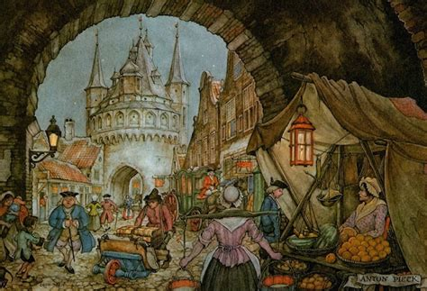 Arabian Jumbo Square by 129 Best Anton Pieck Images On