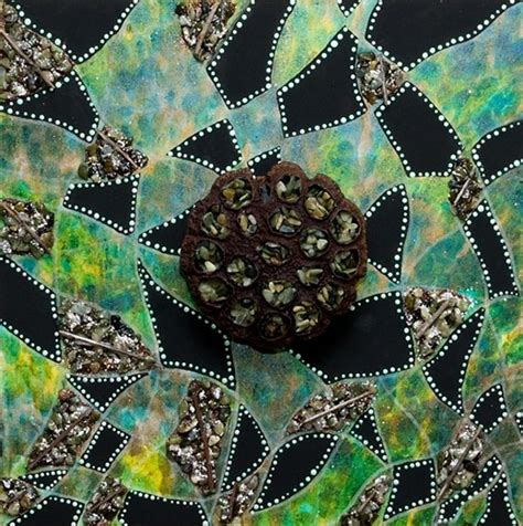 pattern or event in nature that is always true nature as pattern mixed media by carla cascio prairie