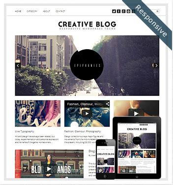 best blog themes ever creative wordpress themes awesome wordpress themesgreedeals