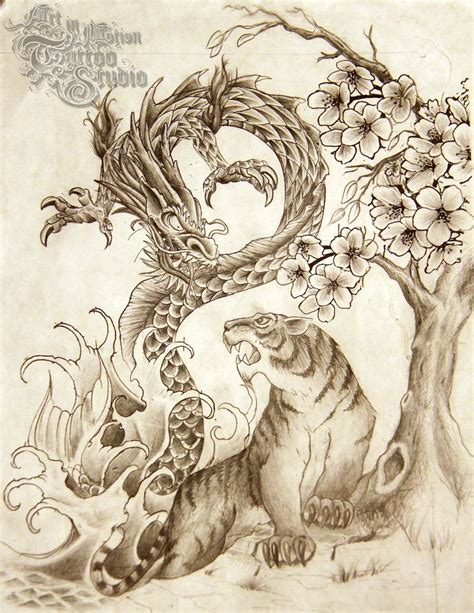 chinese art tattoo designs 1000 ideas about tiger design on tiger