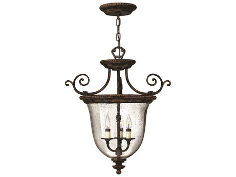 Hinkley Chandelier Hinkley Lighting Rockford Forum Bronze Three Light Mini Chandelier 3713fb