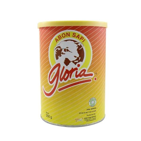 merk terkenal abon sapi kemasan  enak  indonesia