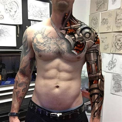 the 25 best steampunk tattoo sleeve trending ideas on