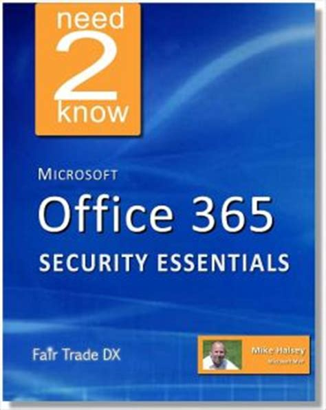 microsoft office 365 security essentials by mike halsey