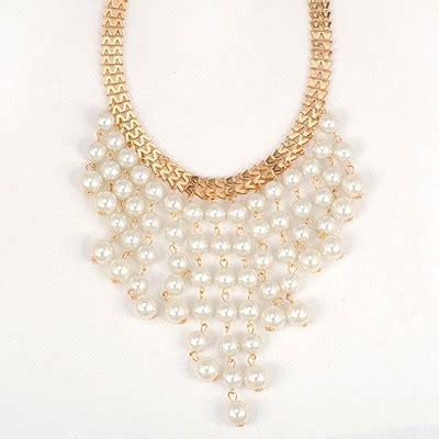 Gelang Korea Banged Pearl 2012 white pearl curtain pendant design asujewelry