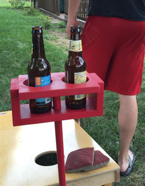 backyard drink holders drink holder cup holder father s day cornhole backyard