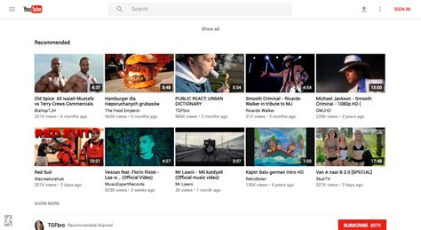 novo layout do youtube 2015 o novo design do youtube material design ele diz