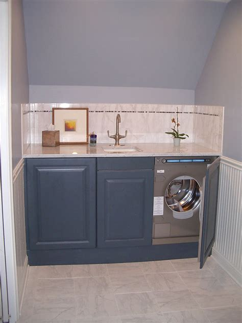 undercounter bathroom storage undercounter washer and dryer in a guest bath i designed