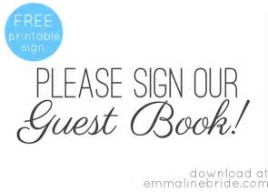 guest sign in book template guest book mistakes to avoid handmade wedding emmaline