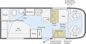 class b floor plans trend floorplans winnebago rvs