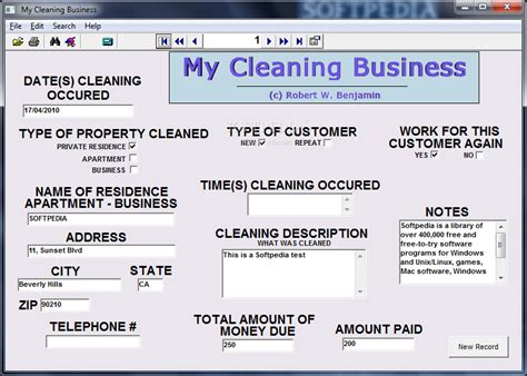 my cleaning business download