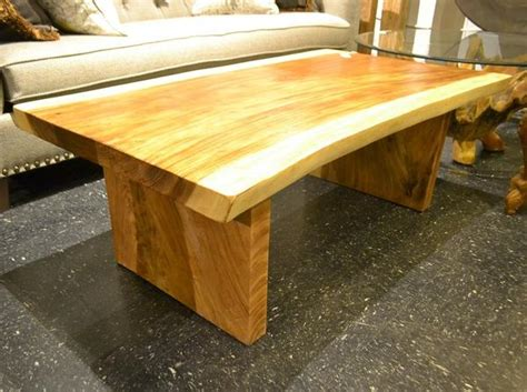 live edge chamcha wood slab coffee table r home furniture