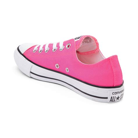 pink converse shoes converse chuck all lo neon sneaker pink 399332