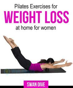 pilates exercises for weight loss at home pilates