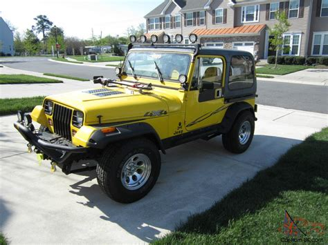 1989 jeep wrangler engine restored 1989 jeep wrangler yj 2 5l 4cyl 5 speed