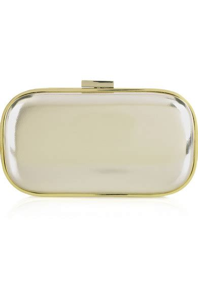 Anya Hindmarch Broken Mirror Leather Clutch anya hindmarch marano mirror effect leather clutch net