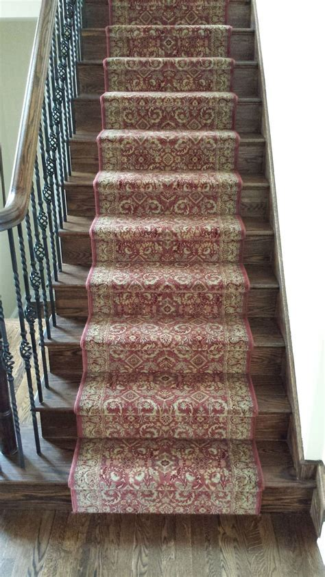 Stair Awesome Stair Design Red Wool Carpet Stair Runner