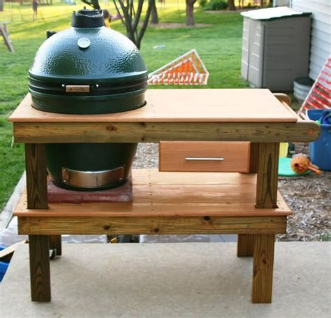 big green egg table plans ideas big green egg table yellawood com big green egg table