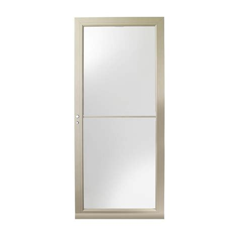 Emco 3000 Series Door by Andersen 3000 Series 36 In Sandtone Left Self