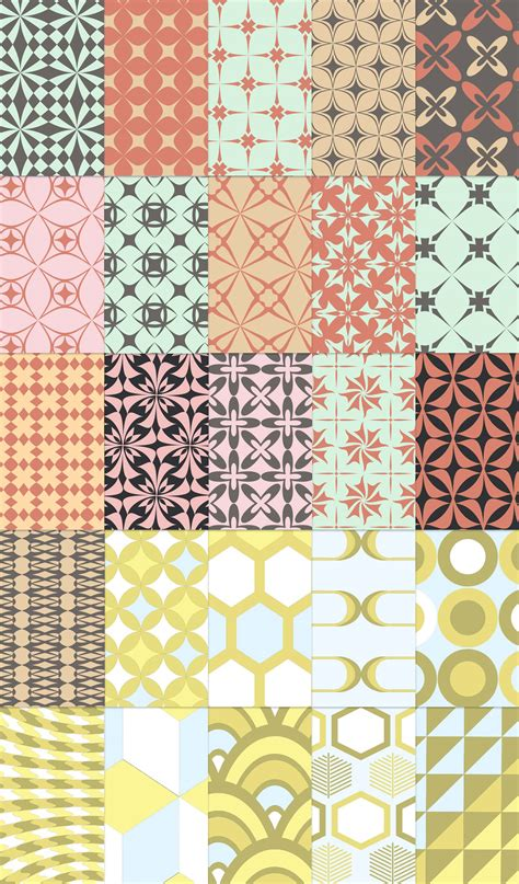 Free 25 Free Retro Patterns Webdesigner Depot