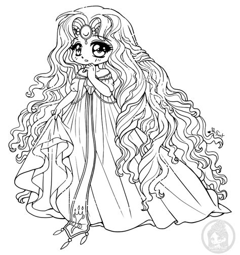 chibi coloring pages fanart free chibi colouring pages yuff s stuff