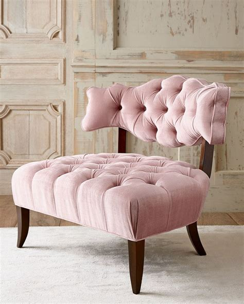 Tufted Bedroom Chair | best 25 pink chairs ideas on pinterest pink velvet 2