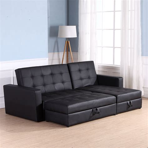 sofa bed living room sofa bed storage sleeper chaise loveseat sectional