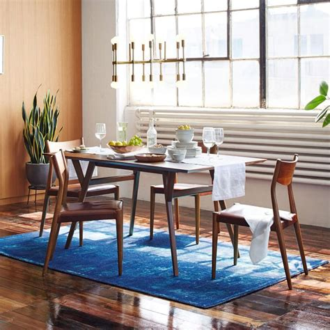 mid century modern dining room table mid century modern dining room tables completureco