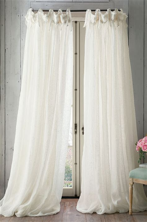 Linen Balloon Drapery Panel Traditional Curtains St