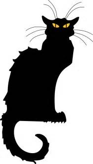cat black free stock photo illustrated silhouette of a
