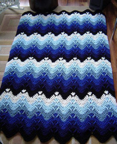 easy zig zag crochet afghan pattern 17 best images about crochet afghan ripple on pinterest
