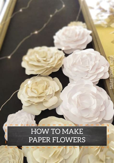 How To Make String On Paper - paper flowers make wonderful decorations for dinner