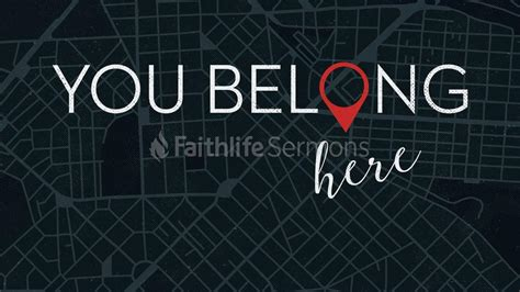 libro you belong here you belong here faithlife sermons