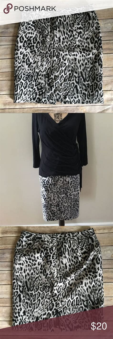 Pencil Skirt Snow by Best 25 Leopard Pencil Skirts Ideas On Animal