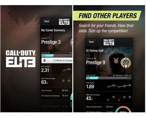 call of duty android call of duty elite companion app arrives on android devices