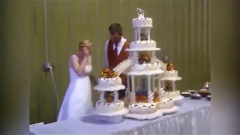 Wedding Cake Fails by Best Wedding Cake Fails Fail Compilation