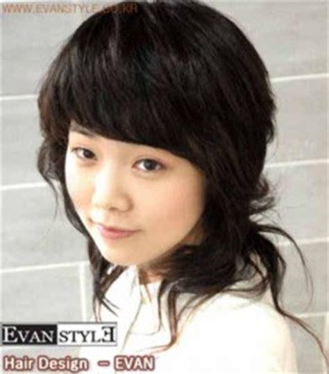 Model Rambut Ombak by Contoh Model Gaya Rambut Wanita Korea Berita Terkini