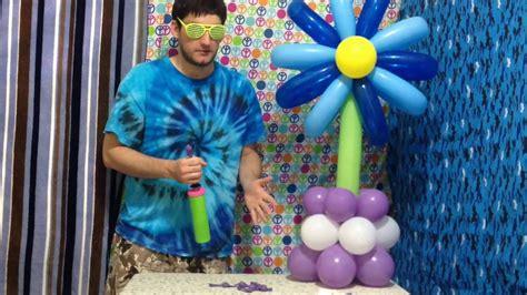 unique flower centerpieces unique flower balloon centerpieces