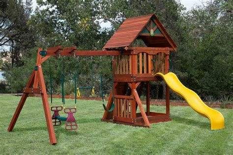 cheapest swing sets wooden playsets at discount prices houston swing