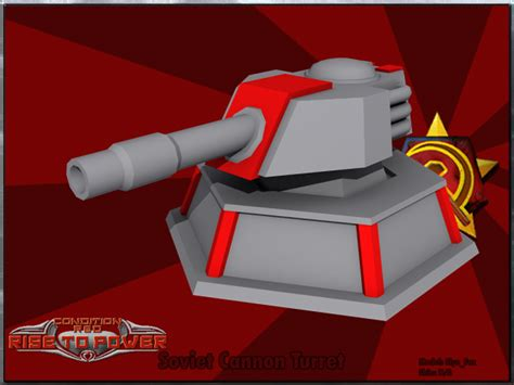 condition red soviet cannon turret image cnc condition red mod for c