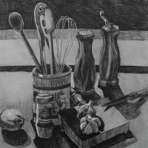Best Place To Buy Kitchen Knives kitchen utensils still life original by stephen boyle