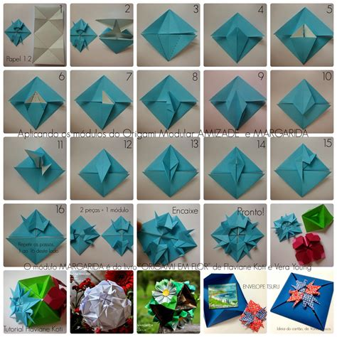 Flor De Origami - origami projects on origami origami paper and